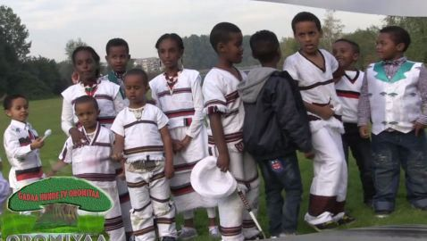 Report: Irreecha in Amsterdam, The Netherlands | Hora Gaasperplas | 'Oromo Thanksgiving' | Onk./Oct. 3, 2015
