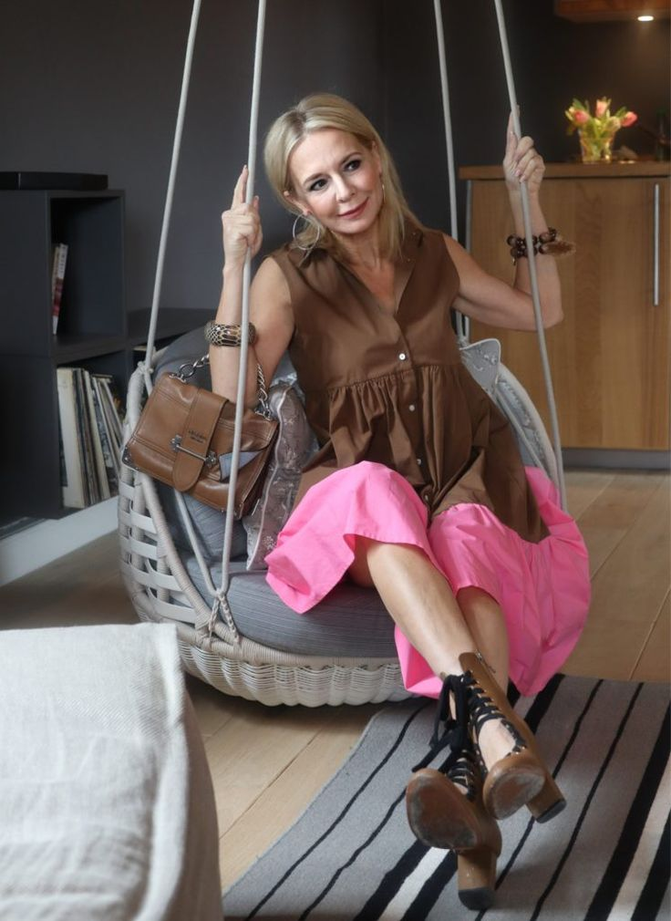 Die Stilexpertin 45+, Bibi Horst, präsentiert die