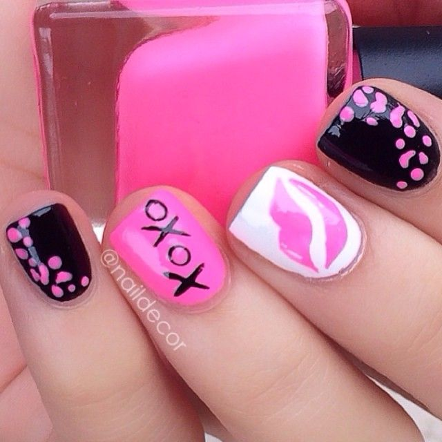 valentine by naildecor  #nail #nails #nailart