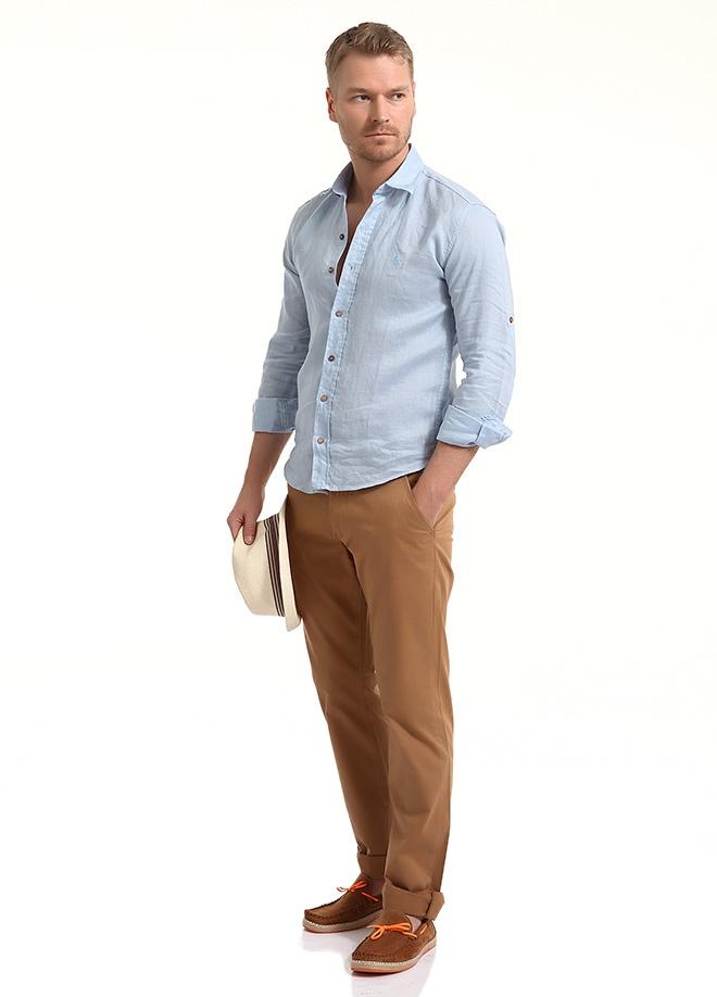 Sateen Men Yıkama pamuk saten pantolon Markafonide 99,90 TL yerine 49,99 TL! Satın almak için: http://www.markafoni.com/product/3797700/