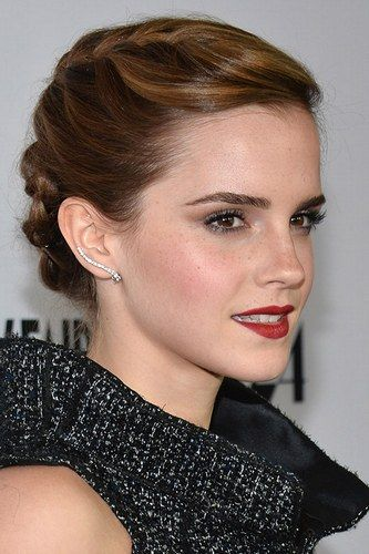 Emma Watson's hair debut started with the frizzy mane of Hermione Granger but over the last decade we have seen her blossom into a trend setting style icon. Her latest red carpet outing...