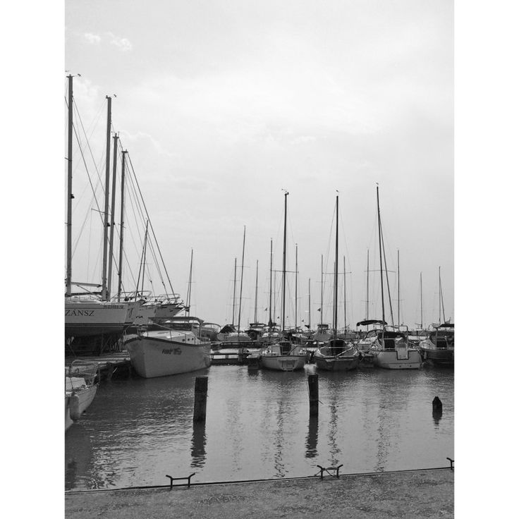 Boats on Lake Balaton 1