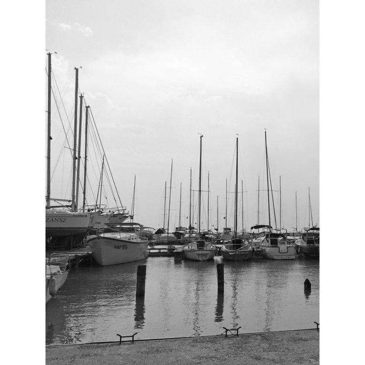 Boats on Lake Balaton 1