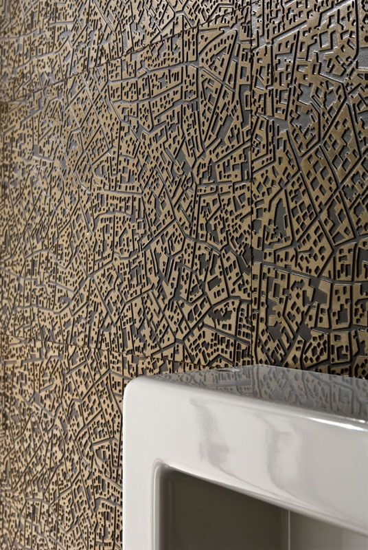 """""""City"""" Ceramic Wall by Lea   LEED applicable"""