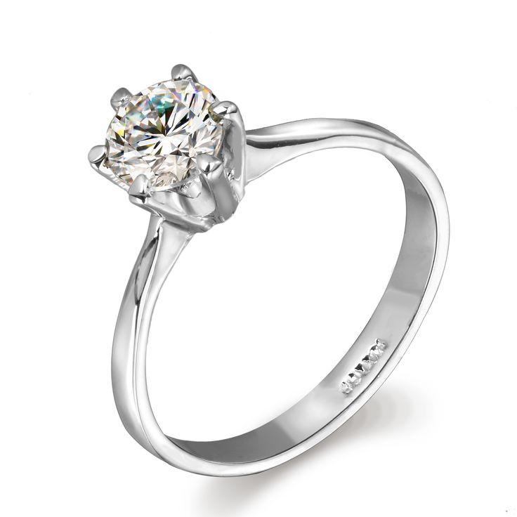 Шесть коготь 1 карат CZ алмазные / обручальные кольца оптовая продажа 18 К серебро / розового золота покрытием кубический циркон ювелирных изделий для женщин DFR014 купить на AliExpress