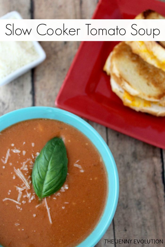 Slow Cooker Tomato Soup Recipe | The Jenny Evolution