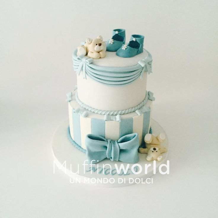 Baby shower cake by Monica Liguori
