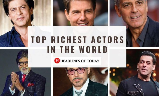 Top 20 Richest Actor In The World In 2020 Richest Actors Actors Bollywood Actors