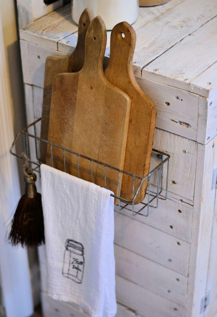 die besten 25+ altmodische drahtkörbe ideen auf pinterest ... - Drahtkörbe Für Küchenschränke