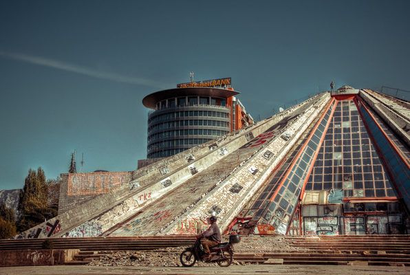 Pyramid of Tirana, Tirana, Albania
