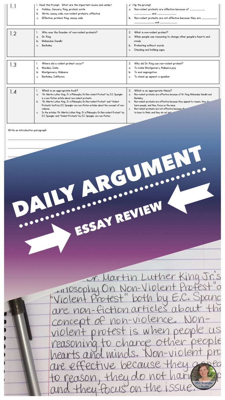 best teaching writing ideas writing anchor  argument essay review is perfect for middle school students to review the structure and format of