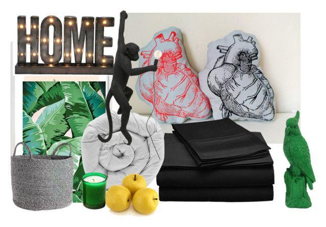 """Wild Home"" by qdquiles on Polyvore featuring interior, interiors, interior design, hogar, home decor, interior decorating, Tela Beauty Organics, Wilder California, M&Co y Crystal Art"