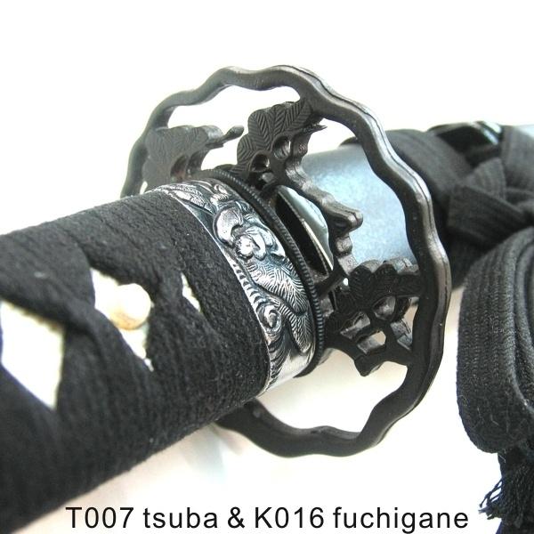 Japanese Sword and Katana's Premier Supplier, Nishijin Sword - CUSTOM CARBON STEEL BLADE PRACTICE KATANA