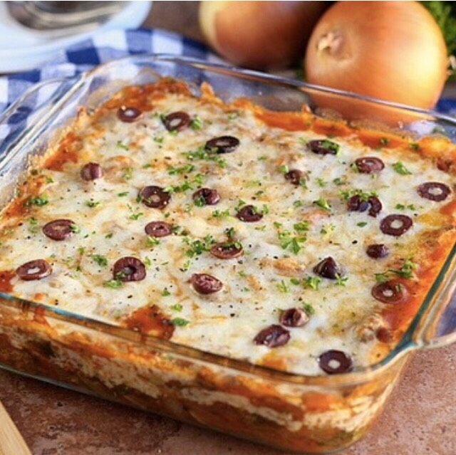 Vegetable-Packed Spaghetti Squash Lasagna  Healthy!!!!#All#Trusper#Tip