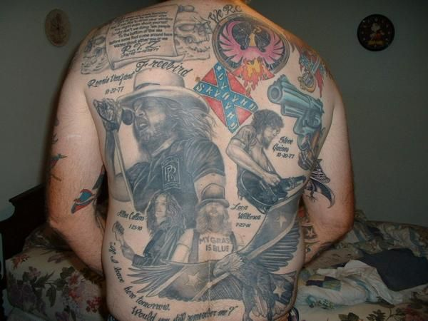 freebird tattoos | Collection Of Lynyrd Skynyrd Tattoos | Lord of the Barflies