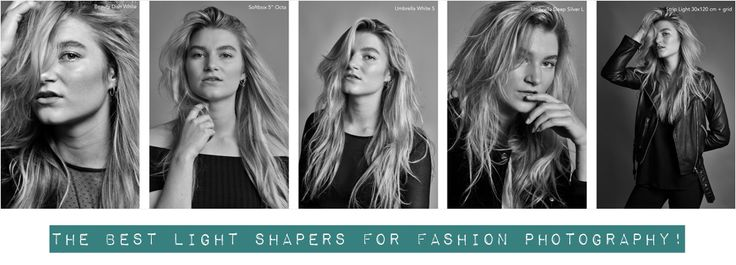 Photography Tips: The 5 best light shapers (softbox, umbrella etc.) for fashion photography!