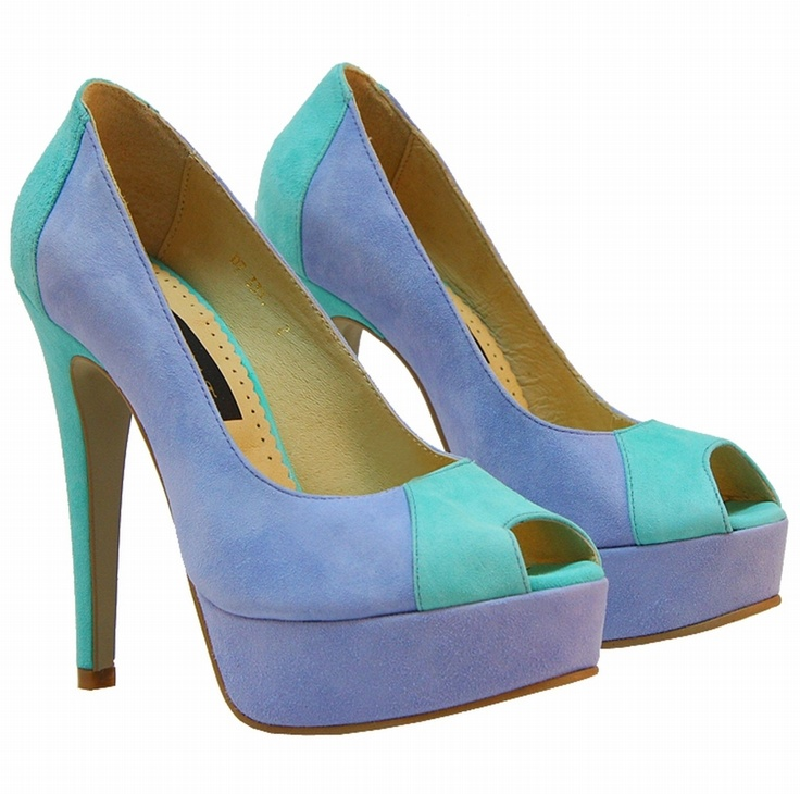 $150  Glamour by AT genuine leather peeptoe shoes