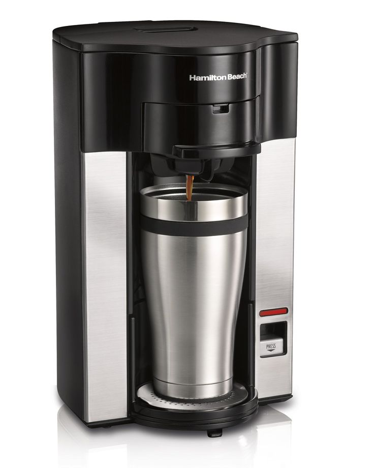 Hamilton Beach Stay or Go Personal Cup Pod Coffee Maker 49990Z *** A special product just for you. See it now! : Coffee Maker