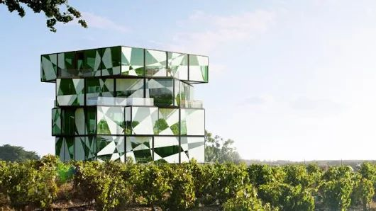 Winery reveals its $13m 'Rubik's Cube' development