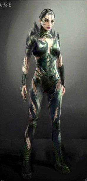 Power Rangers NOW‏ @PowerRangersNOW  3月24日その他 #PowerRangersMovie Rita Repulsa concept art released!https://www.powerrangersnow.com/rita-repulsa-concept-art-released …