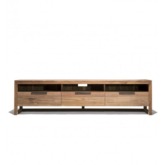 Industry West Triptych Teak Console