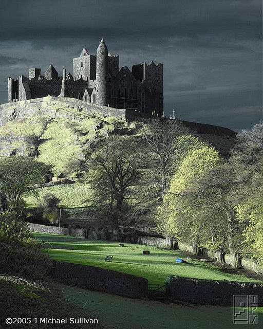 Rock of Cashel, Ireland   - photo by Michael Sullivan