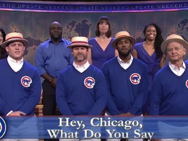 Watch Cubs and Bill Murray Sing 'Go Cubs Go' on 'Saturday Night Live'