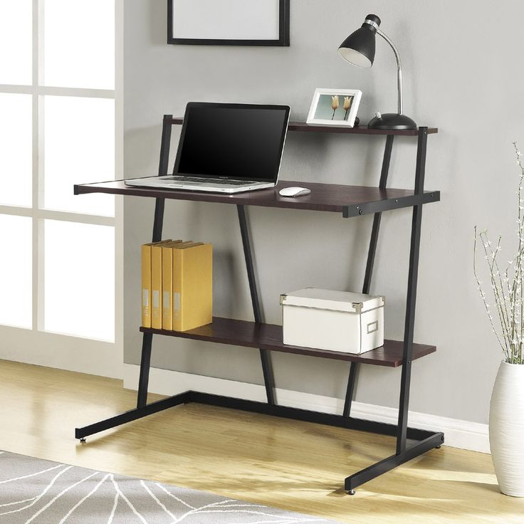best 25 small computer desks ideas on pinterest diy storage shelves for bedroom building a. Black Bedroom Furniture Sets. Home Design Ideas