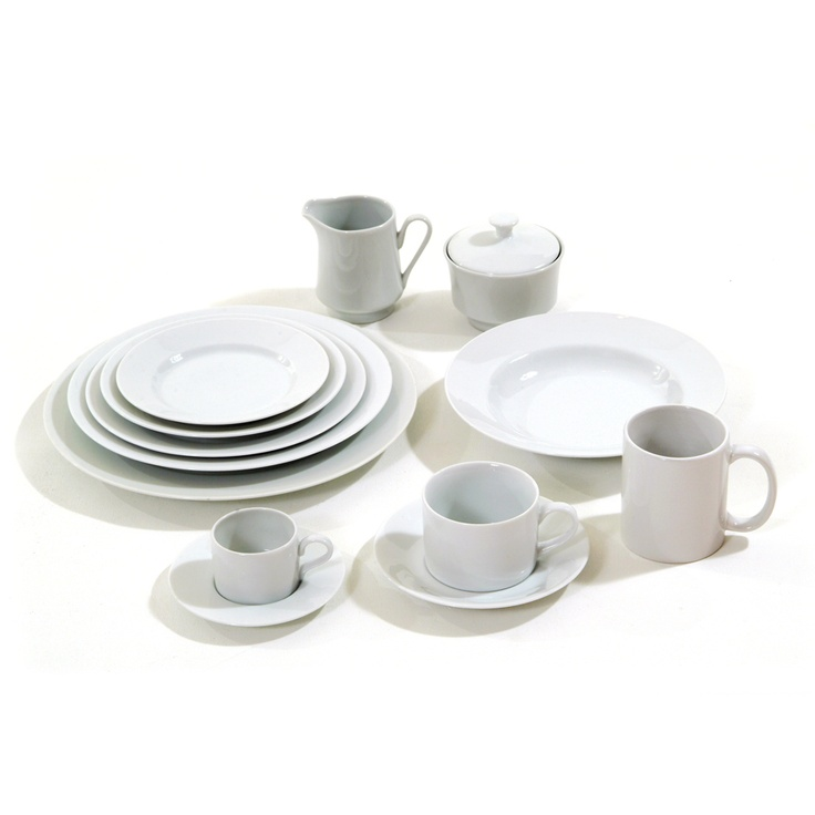Classic White Plate Set