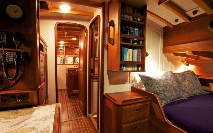 Best 25 Sailboat Interior Ideas On Pinterest Sailboat Living Liveaboard Sailboat And Living