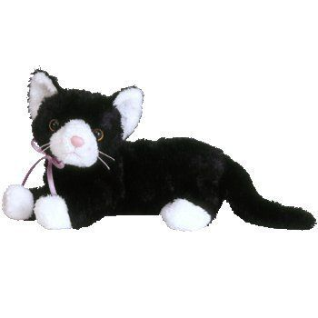 3f882ff1ff2 TY Beanie Baby - BOOTIES the Black   White Cat by Ty