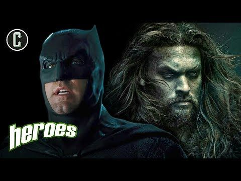 Justice League: Post Credit Scene In, Affleck's Batman Out? - Heroes - YouTube