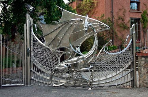 this is tight i would have that as my front gate