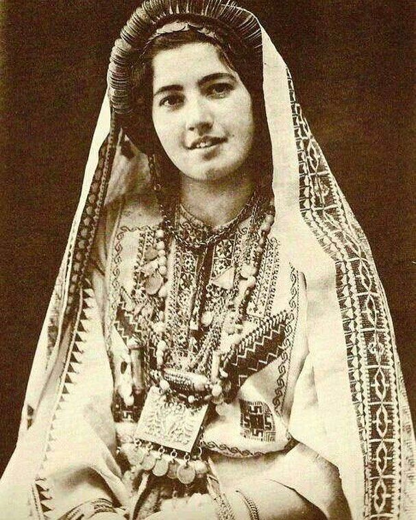 A bride from Ramallah, Palestine