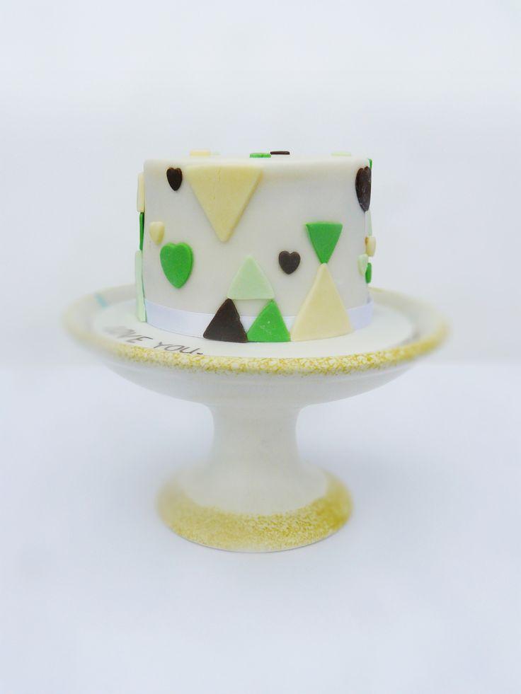 Mini love cake