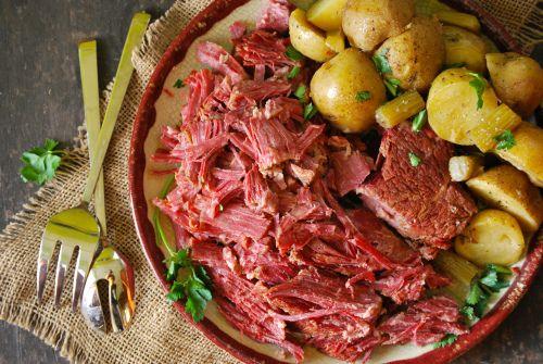 Homemade Corned Beef via Relishing It | Recipes | Pinterest