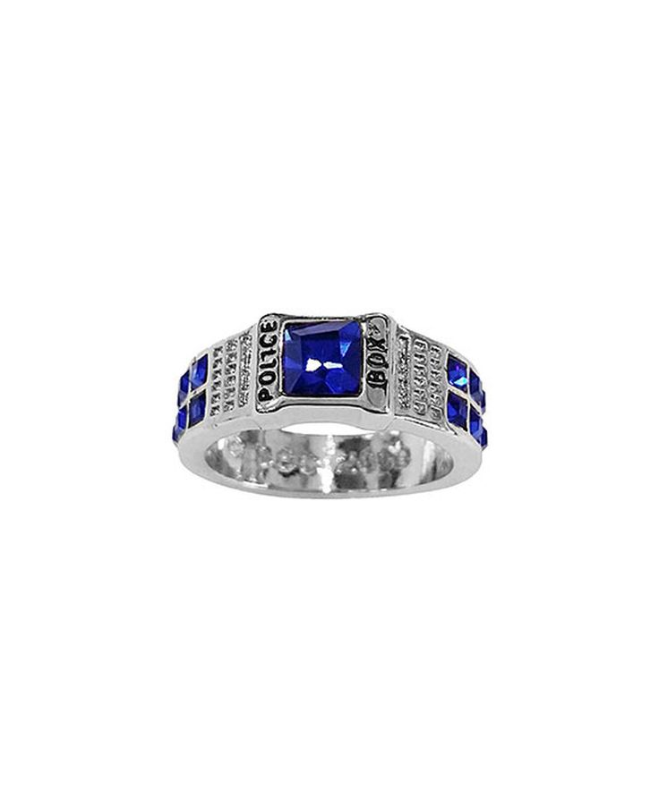 Take a look at this Doctor Who TARDIS Ring today!