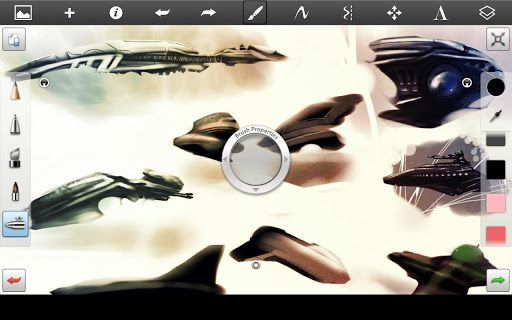 SketchBook Pro for Tablets v2.6  Requirements: Android 3.0+  Overview: For everyone who loves to draw - Autodesk SketchBook.