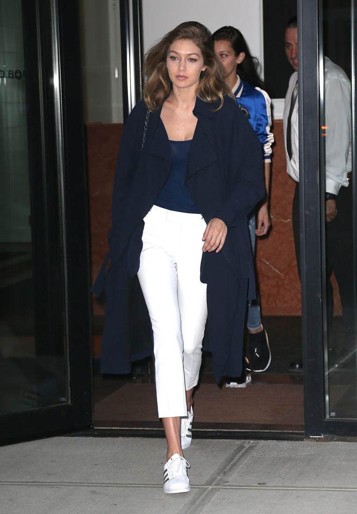 Zayn Malik seen leaving Gigi Hadid's apartment and attends amfAR Inspiration Gala in NYC