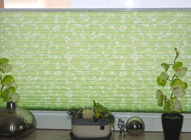 plissee orchidee dekoidee muster macht euer zuhause schner mit unseren plissees we plissees pinterest - Plissee Mit Muster