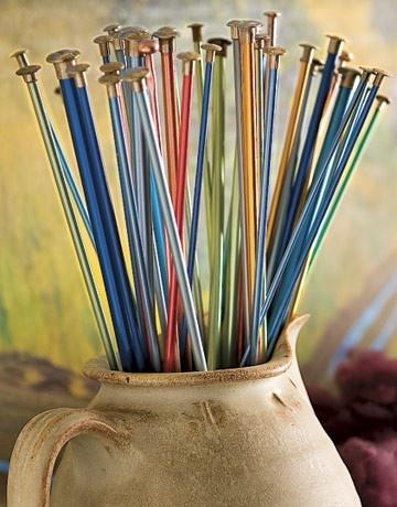 Knitting Needles knittingKnitting Needles, Crafts Ideas, Knits Crochet, Yarns, Needle Knits, Things, Antiques Knits, Knits Needle Storage, Knits Knits
