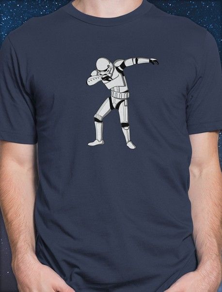 2b0bf32ae Bailamos al son del Dab con esta camiseta Star Wars