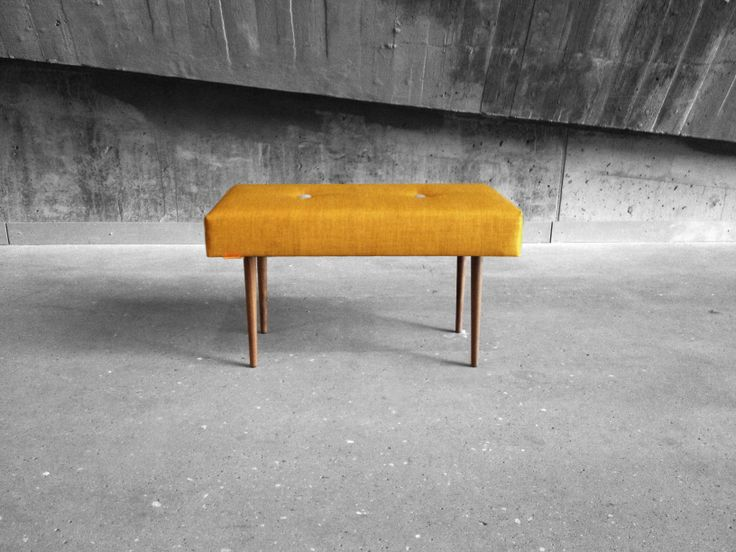 BENCH | take a seat | curry with natural finish legs www.benchtakeaseat.com