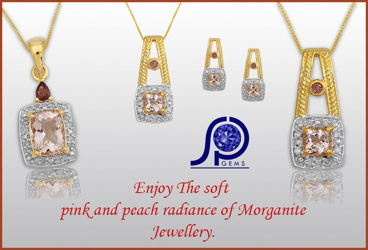 Buy Online Morganite Necklace and Earrings  See #shreeprakashgem is the Number One Online Jewellery Retailer with a gorgeous range of Morganite #necklace and #earrings,#rings, #bracelets. Shop online for Morganite Jewellery from Ernest Jones, the Diamond Specialist. Enjoy the soft pink and peach radiance of #morganitejewelry.
