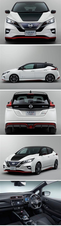 Nissan Leaf Nismo Concept 2017 #posters #printcarposter