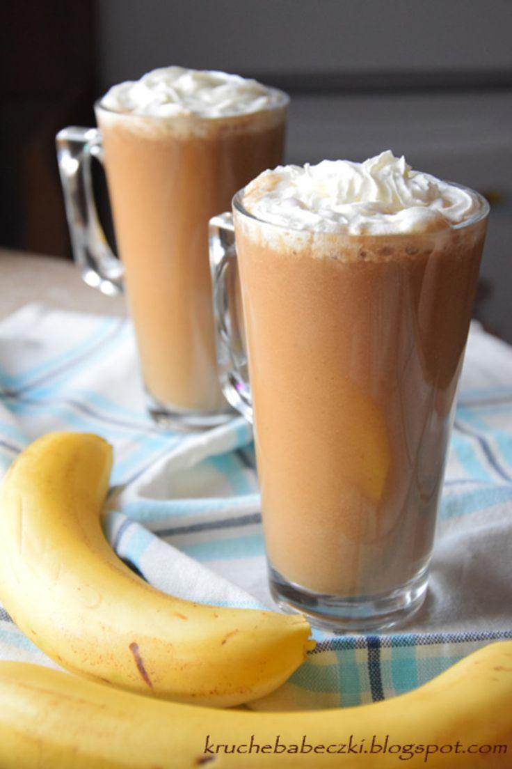 Bananowa kawa na zimno