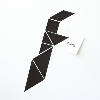 Magneetset tangram roodtinten / Groovy Magnets