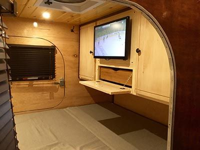 The 25 best teardrop trailer interior ideas on pinterest teardrop camper interior teardrop Diy caravan interior design ideas
