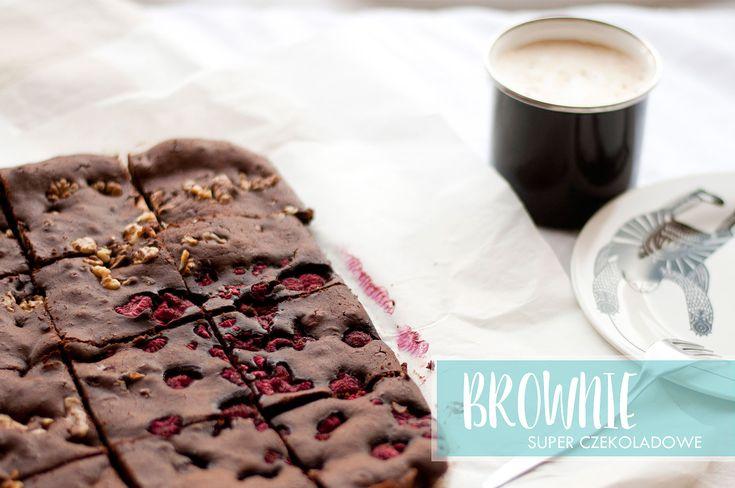 Brownie super czekoladowe   worQshop