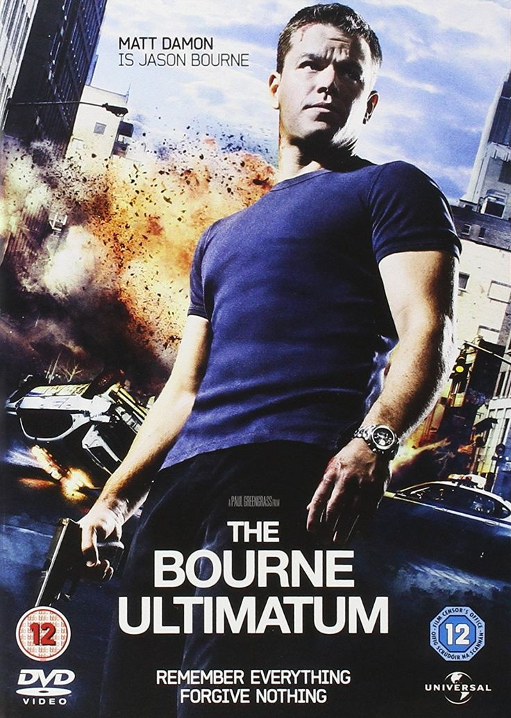 The Bourne Ultimatum [DVD] [2007]: Amazon.co.uk: Matt Damon, Paul Greengrass: DVD & Blu-ray